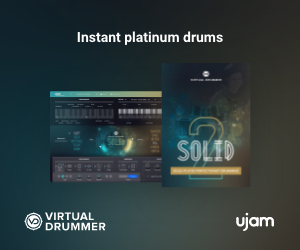 Instant platinum drums Virtual Drummer Solid by UJAM