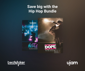 Save big with the Beatmaker Hip Hop Bundle by UJAM