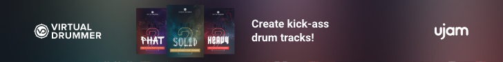 Create kick-ass drum tracks! Virtual Drummer by UJAM