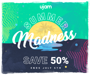 Summer Madness: Save 50 % on all ujam plugins!