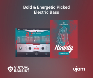 Bold & Energetic Picked Electric Bass